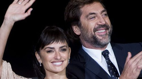 Penélope Cruz y Javier Bardem, todo amor y éxito en la clausura del Festival de San Sebastián 2017