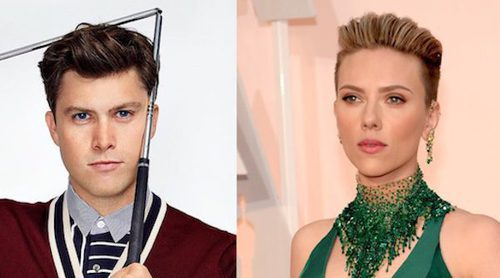 Scarlett Johansson, cada vez más enamorada del humorista Colin Jost