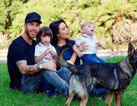 Pilar Rubio y Sergio Ramos confirman junto a sus hijos que esperan su tercer hijo