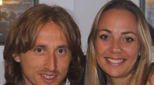Luka Modric ha sido padre por tercera vez junto a su esposa Vanja Modric