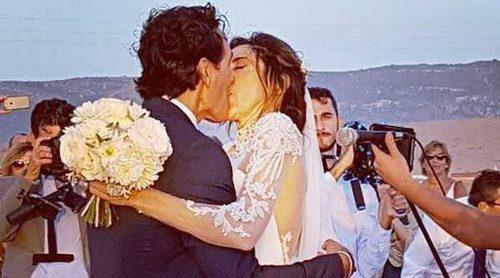 Paz Padilla y Juan Vidal celebran su primer aniversario de boda: 'Sigo en esa nube donde me subí contigo'