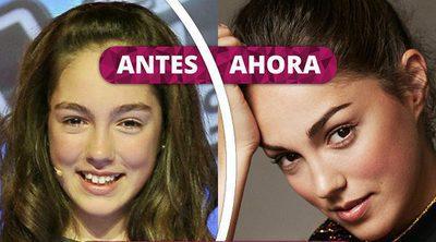 Así ha cambiado María Parrado: La evolución de la ganadora de la primera edición de 'La Voz Kids'