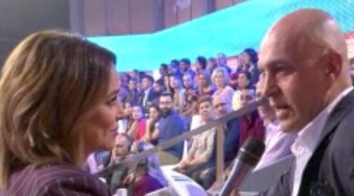 El enfrentamiento de Kiko Matamoros y Toñi Moreno por un comentario hacia Carmen Borrego