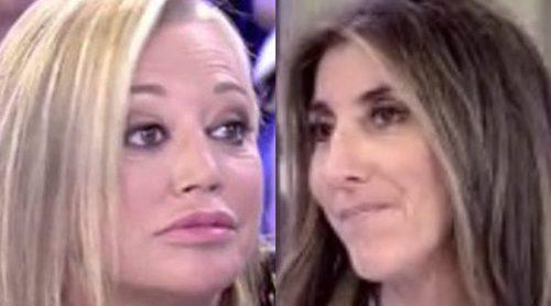 Paz Padilla, al borde de las lágrimas porque Belén Esteban no la invitará a su boda: 'Estas cosas me duelen'