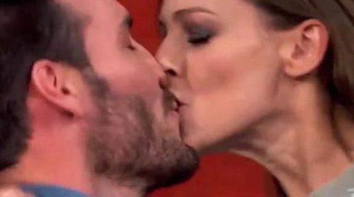 'Masterchef Celebrity 2' se llena de amor: Así fueron los besos pasionales entre Saul Craviotto o Eva González