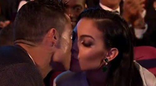 Cristiano Ronaldo y Georgina Rodríguez brillan con luz propia en la gala de los Premios The Best Fifa 2017