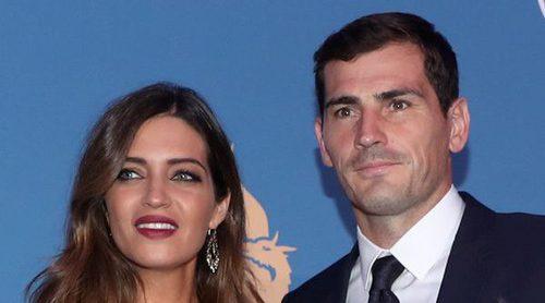 Sara Carbonero e Iker Casillas acaparan todas las miradas en la Gala de los Dragones de Oporto