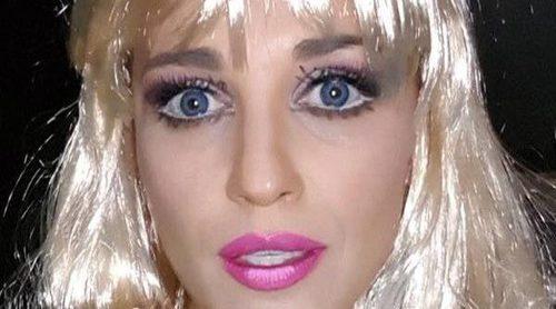Paula Echevarría, toda una Barbie junto a su terrorífica hija Daniella Bustamante en Halloween 2017