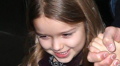David y Victoria Beckham, indignados después de que llamen gorda a su hija Harper en las redes sociales