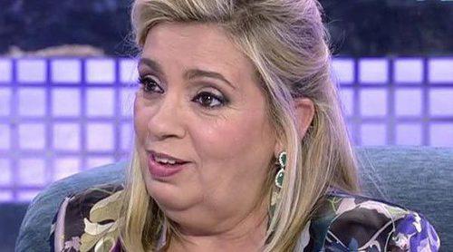 Carmen Borrego cree que Terelu Campos ha llegado a ser presentadora gracias a su madre, según el polígrafo