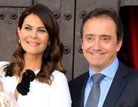 María José Suárez celebra más que feliz el bautizo de su hijo Elías
