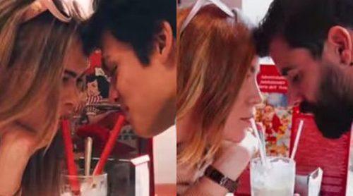 Yoli y Jonathan ('GH15') imitan las fotos más románticas e idílicas de las redes