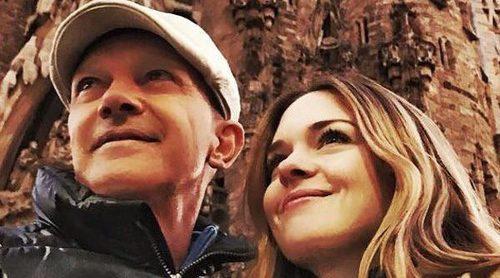 Antonio Banderas se va de escapada a Barcelona con su hija Stella tras la muerte de su madre Doña Ana
