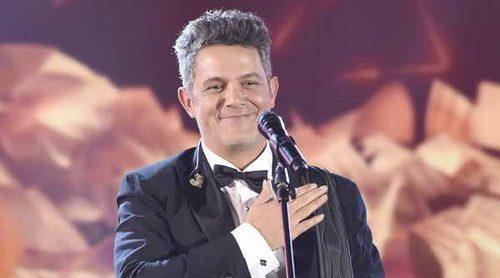Alejandro Sanz vive su noche más mágica al recibir el Premio Persona del Año 2017 de los Grammy Latinos