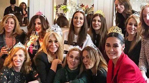 Paula Echevarría, Bibiana Fernández, Marta Hazas y demás amigas famosas se van de cumpleaños