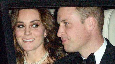 El cariñoso gesto de Kate Middleton a la Reina Isabel en la cena de su 70 aniversario de boda