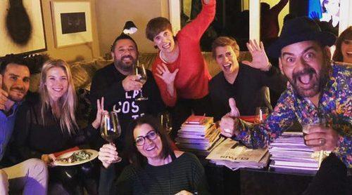 Patricia Montero, José Corbacho y demás concursantes disfrutan de la final de 'MC Celebrity' todos juntos