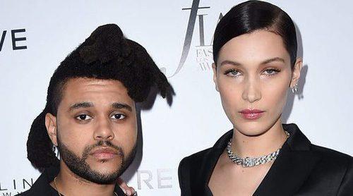 The Weeknd le envía un bonito ramo de flores a Bella Hadid