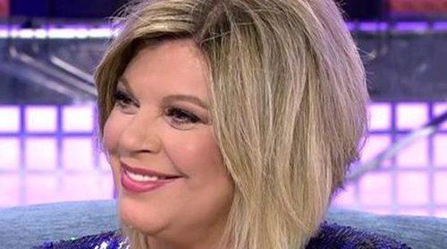 Terelu Campos confirma en el polígrafo del 'Deluxe' que mantuvo una relación con el cantante Cristian Castro
