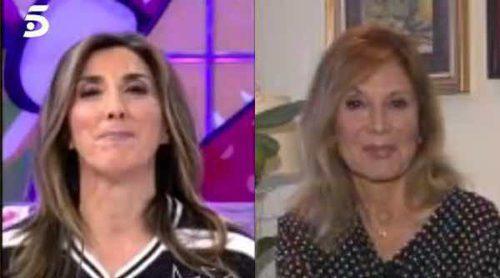 La pullita de Paz Padilla a Pilar Eyre: 'Tiene la boquita muy larga'