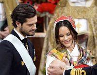 Sofia Hellqvist roba el protagonismo a su hijo el Príncipe Gabriel el día de su bautizo