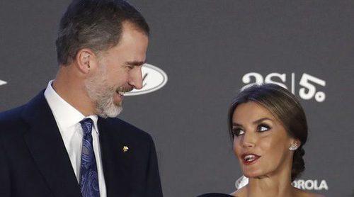 Los Reyes Felipe y Letizia, presidentes de honor de la gala de los Premios AS 2017