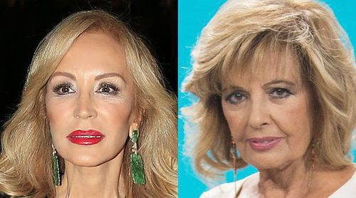 Carmen Lomana critica a María Teresa Campos por disfrazarse de Audrey Hepburn: 'Es una ridiculez'