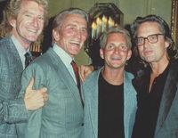Así son Michael, Joel, Peter y Eric, los cuatro hijos de Kirk Douglas