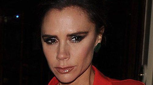 David y Victoria Beckham acuden juntos a una cena con la familia de la modelo