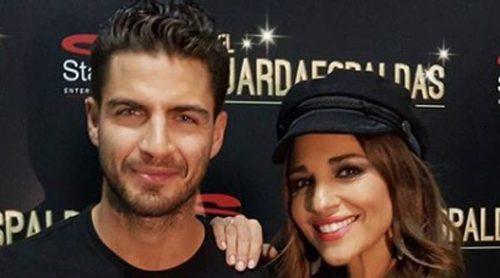 Paula Echevarría presume de 'su guardaespaldas' Maxi Iglesias