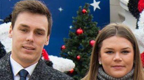 Louis Ducruet y Camille Gotlieb, los ayudantes navideños de Alberto y Charlene de Mónaco