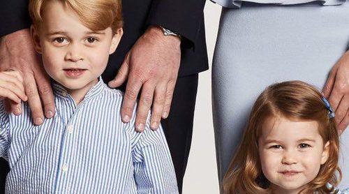 Los Duques de Cambridge limitan los regalos de Navidad a sus hijos Jorge y Carlota para que no sean unos malcriados