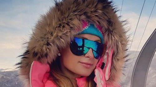Paris Hilton disfruta de excursión a la nieve junto a su novio Chris Zylka
