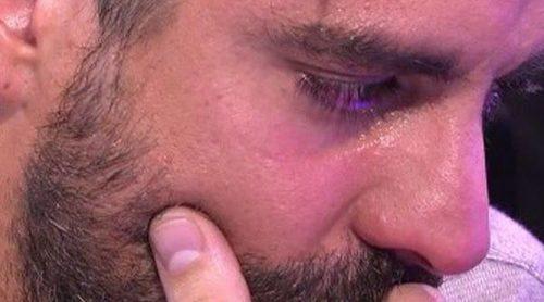 Mark Hamilton se derrumba y rompe a llorar ante la situación con María Lapiedra