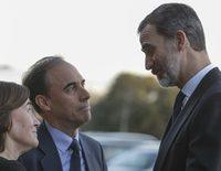 El Rey Felipe da su último adiós a Aurelio Menéndez, su antiguo profesor y ex Ministro de Adolfo Suárez