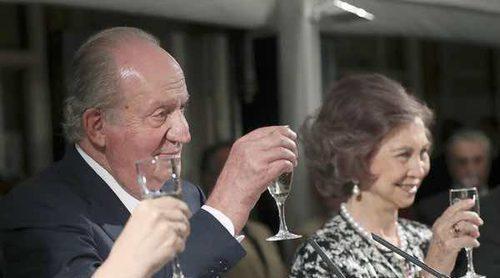 Así fue el almuerzo ofrecido por el Rey Juan Carlos con motivo de su 80 cumpleaños