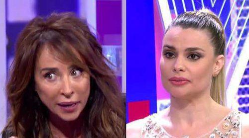 María Patiño explota contra María Lapiedra: 'No me merezco que nadie me llame zorra por hacer mi trabajo'