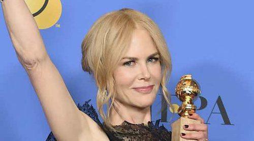 El aplaudido discurso de Nicole Kidman tras recoger su galardón en los Globos de Oro 2018