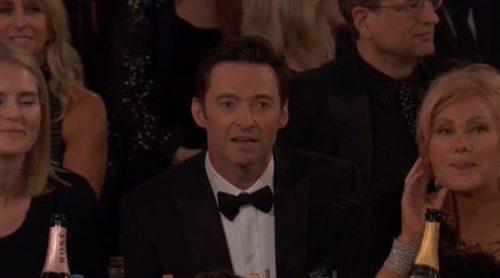 La cara de Hugh Jackman que ha llenado las redes de memes tras perder frente a James Franco