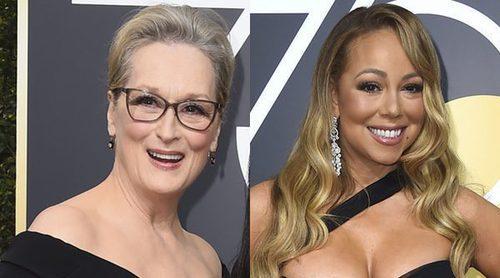 Meryl Streep de Mariah Carey: '¡La puta me quitó el sitio!'