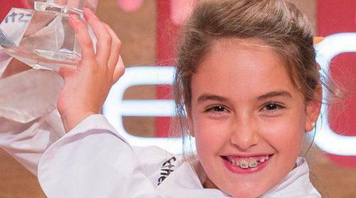 Esther se convierte en la ganadora de 'MasterChef Junior 5' en una final muy emocionante