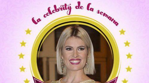 Adriana Abenia se convierte en la celebrity de la semana por su embarazo