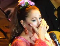 La emotiva dedicatoria de Isabel Pantoja a su fan fallecida en su concierto de Gran Canaria: