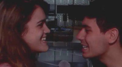El momentazo de película de Alfred y Amaia con beso incluido en 'OT 2017'