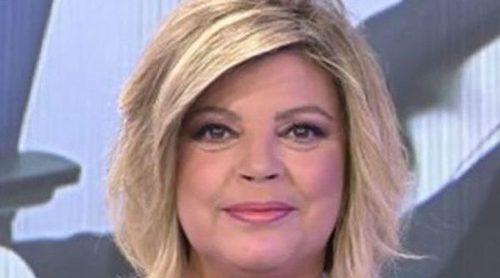 Terelu Campos consigue ser presentadora de 'Sálvame' durante unos minutos