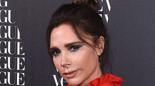 Victoria Beckham, todo glamour en la cena de Vogue organizada en su honor