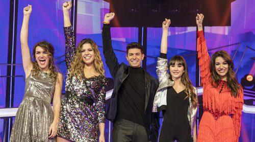 OT 2017: ¿'Tu canción', 'Lo malo' y 'Arde', favoritas para Eurovisión 2018?