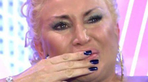 Raquel Mosquera, entre la emoción por Pedro Carrasco y los reproches a Rocío Carrasco en 'Sábado Deluxe'