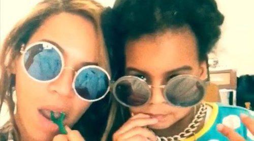 Blue Ivy manda a Beyoncé y Jay Z que dejen de aplaudir en los Grammy 2018