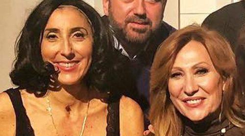 Rosa Benito se reencuentra con sus excompañeros de 'Sálvame' gracias a Paz Padilla